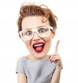 Funny woman — Stock Photo