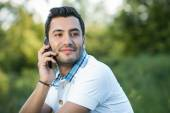 Hispanic man — Stock Photo