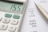 Calculating Tax Liability — Stock Photo