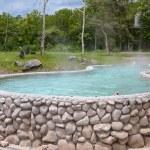 A tub full of hot water at San Kamphaeng Hot Springs — Stock Photo #58992587