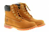 Timberland 6-Inch premium waterproof boots — Stock Photo