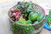 Vegetable sold on the street in Nepali markets. — Stock Photo