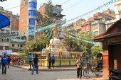 Tahiti Stupa, Tahiti Tole, i Kathmandu, Nepal — Stockfoto