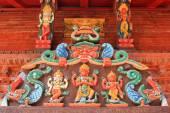 Shree Kumari shrine in kathmandu, Nepal — Stock Photo