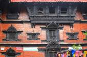 Kumari Ghar houses Kumari Devi in Kathmandu, Nepal — Stock Photo