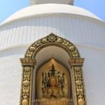 Buddha statue at World Peace Pagoda in Pokhara, Nepal. — Stock Photo #64054749