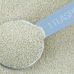 Active dry Baking yeast granules — Stock Photo #67216845