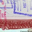 Visa to The United States of America — Stock Photo #75625481