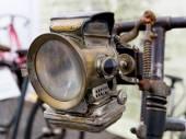 Vintage Bicycle headlight — Foto Stock