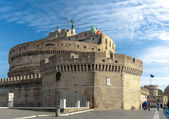 Castel Sant' Angelo in Rome — 图库照片