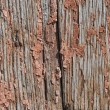 Old wooden planks with cracked paint reddish — Stock Photo #61485425