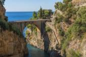 Amalfi Coast - Furore — Stock Photo