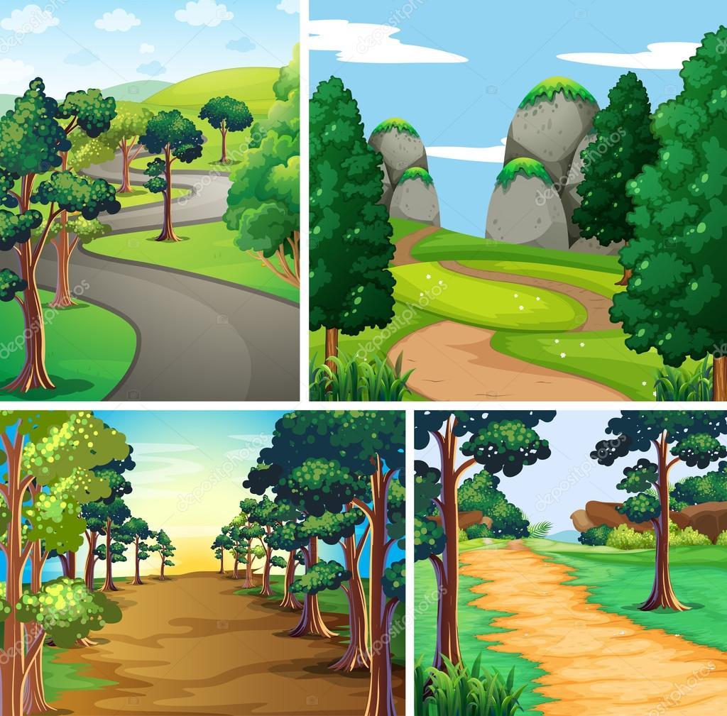 Сцена на природе картинки