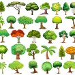 Set of trees — Stock Vector #51971641