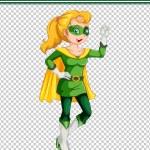 Постер, плакат: Green Superhero