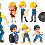 Workers — Stock Vector #51972231