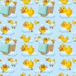 Seamless ducks — Stock Vector #51972875