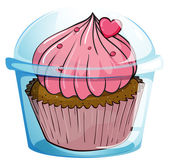 Close up cupcake — Stock Vector
