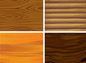 Patrón de madera — Vector de stock