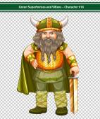 Viking Warrior — Stock Vector