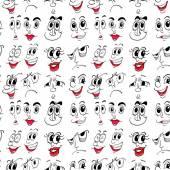 Facial expressions — Stock Vector