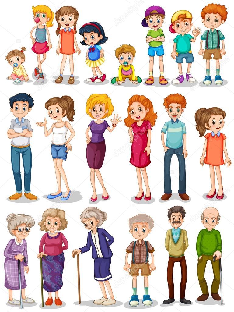 Рисунки членов семьи