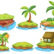Islands — Stock Vector #52593031