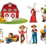 juego de granja — Vector de stock  #52594063
