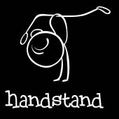 Handstand — Stock Vector
