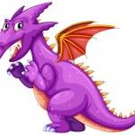 Purple dragon — Stock Vector #53281333