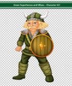 Viking macho — Vetor de Stock