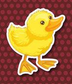Duckling — Stock Vector