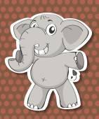 Elephant — Stock Vector