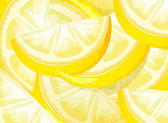 Lemon texture — Stock Vector
