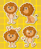 Lion — Stock Vector
