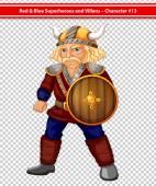 Male viking — Stock Vector