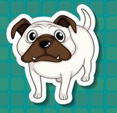 Dog Illustration — Stock Vector