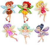 Fairies Illustration — Stock Vector