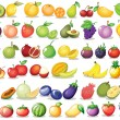 Fruit set — Stock Vector #54092015