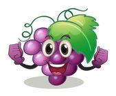 Grape Illustration — Stock Vector