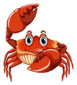 Crab Illustration — Stock Vector