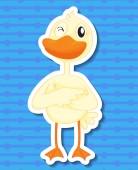 Duck Illustration — Stock Vector
