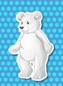 Urso polar — Vetorial Stock
