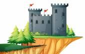 Castle  Illustration — Stock Vector