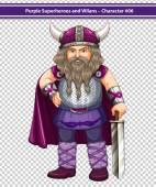 Viking Illustration — Stock Vector