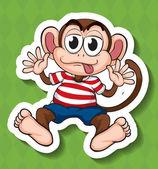 Monkey — Stock Vector