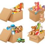 Toys — Stock Vector #55558231