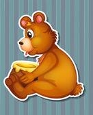 медведь — Cтоковый вектор