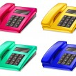 Telephones — Stock Vector #56451353