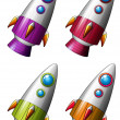 Rockets — Stock Vector #56876595